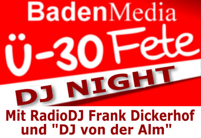BadenMedia DJ Night im Lauinger in Malsch